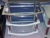 skleněný TV stolek