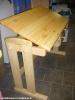 Dětský dřevěný stůl - polohovací