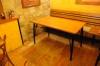 Prodám restaurační stoly a židle  (volné od února) cena 60.000,-s DPH
