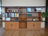 TV stěna + knihovna