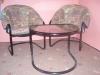 2 křesla+stolek