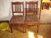 židle dřevěné
