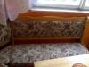 Rohová lavice+taburetky